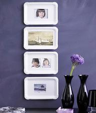 Inspirace na vystavení fotek z dětství na hostině