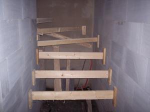 Výstavba schodů. Maturita