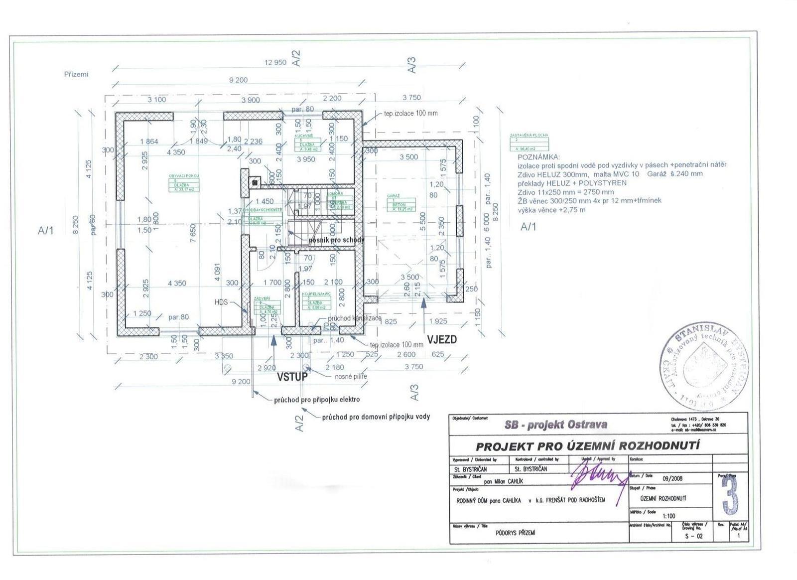 Můj domek svépomocí za 1,3 miliónu - Obrázek č. 2