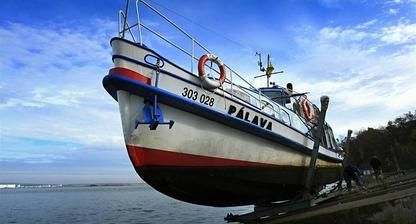"""Naše"" loď Pálava."