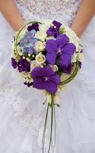 Svatební kytice konečně vybrána :-)