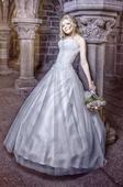 Princeznovské tylové svatební šaty Madora na míru, 36