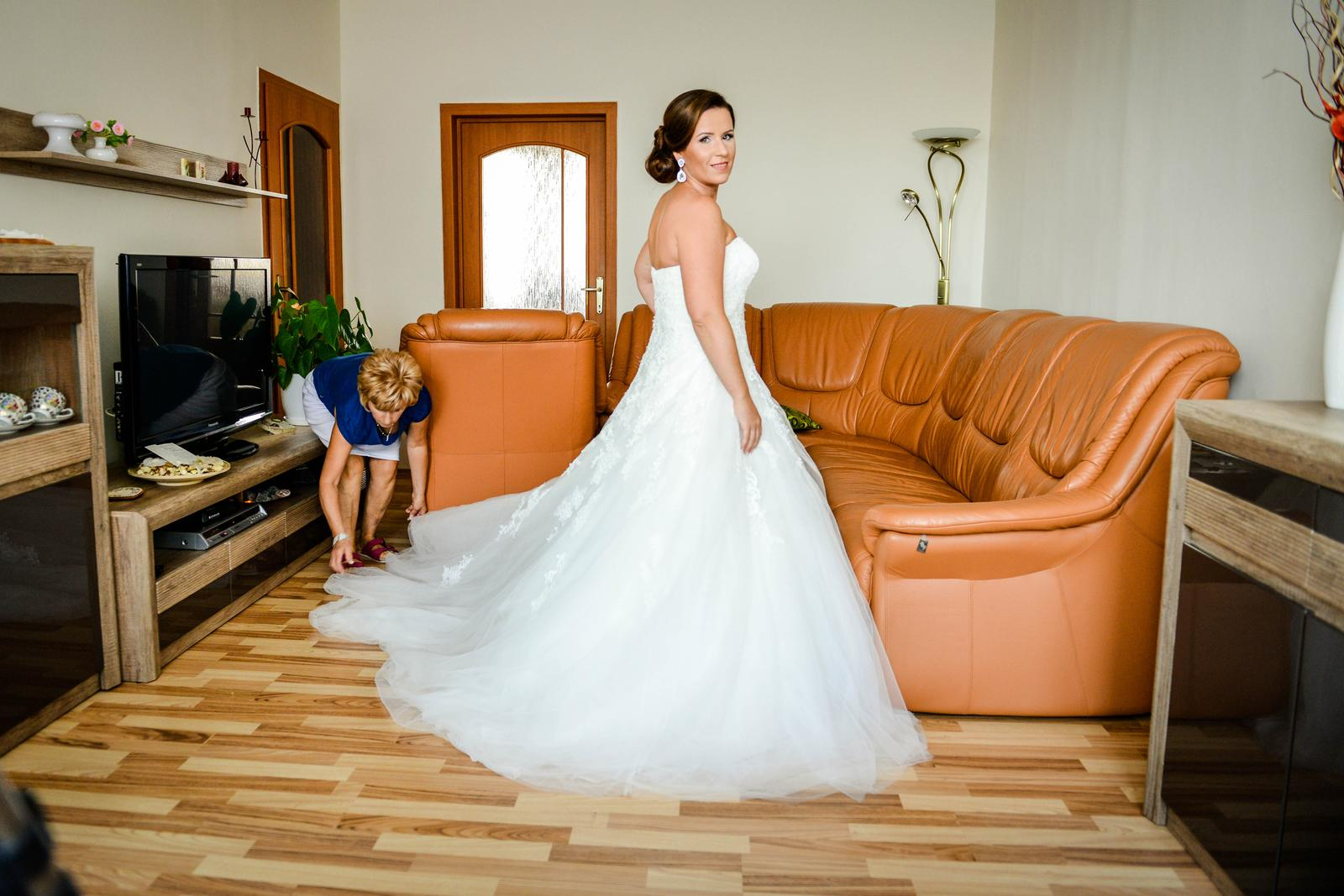 ❤Peťa{{_AND_}}Majo❤ - Salon Nicole NR - PRONOVIAS - Octavia