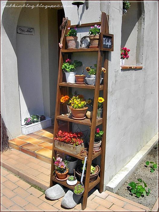 Starý rebrík - skvelá dekorácia :-) - Obrázok č. 10