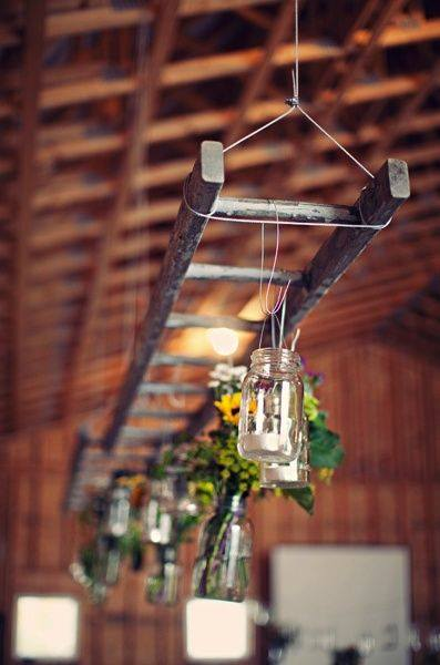 Starý rebrík - skvelá dekorácia :-) - Obrázok č. 46