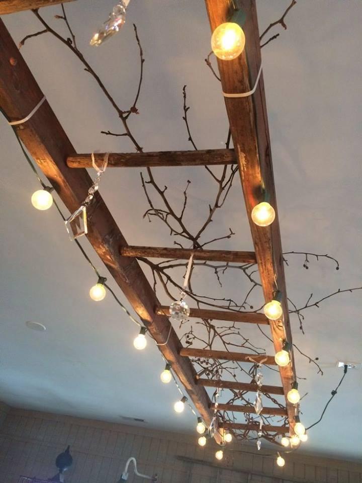 Starý rebrík - skvelá dekorácia :-) - Obrázok č. 47
