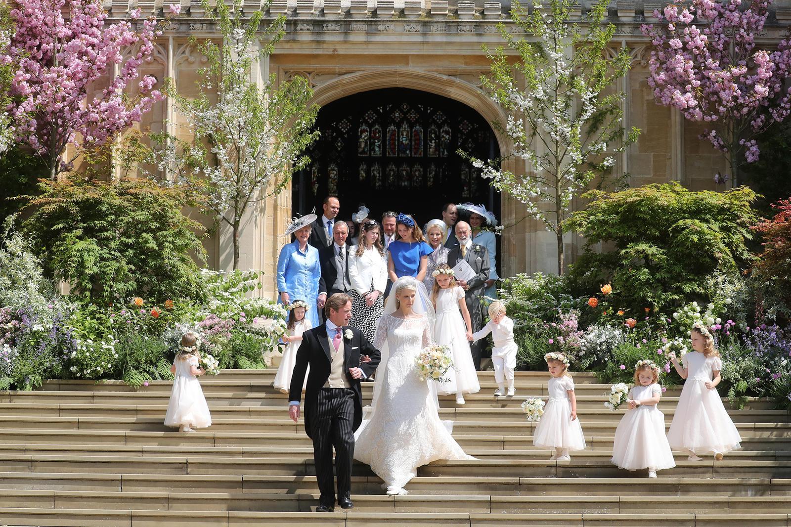 Královská svatba - Lady Gabriella Windsor a Thomas Kingston - Obrázek č. 22