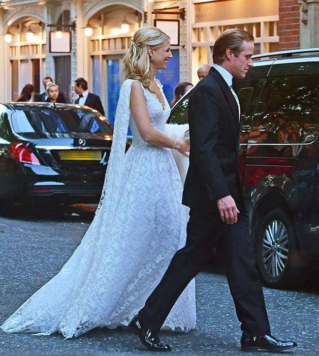 Královská svatba - Lady Gabriella Windsor a Thomas Kingston - Lady Gabriella a její druhé svatební šaty