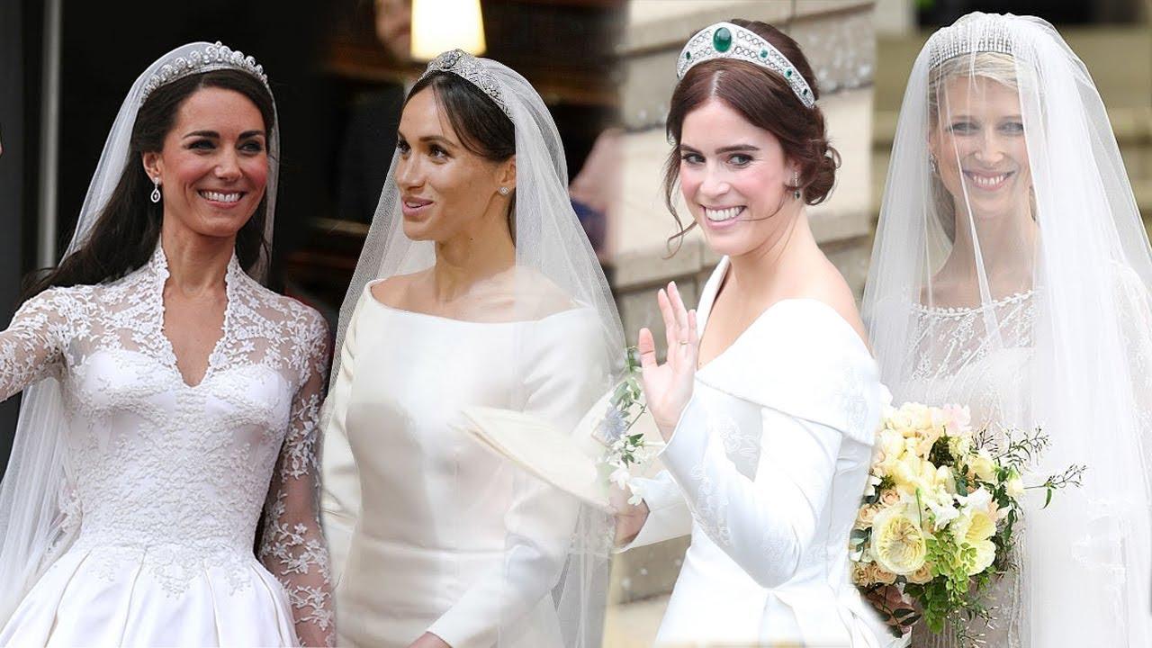 Královská svatba - Lady Gabriella Windsor a Thomas Kingston - Královské nevěsty - která je ta nej?