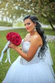 Luxusné svadobné šaty, 40
