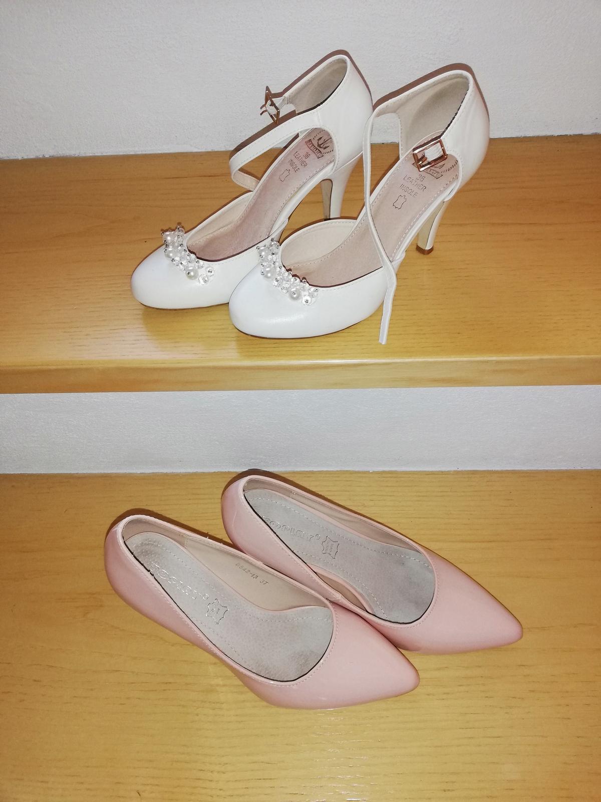 Biele topanky a ruzove lodicky - Obrázok č. 2