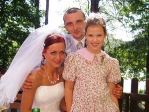 S dcerou mojí sestřenice Pavlínou
