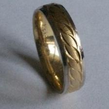 Toto jsou naše prstýnky. Už se vyrábějí. Ve skutečnosti jsou mnohem hezčí.