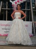 svatební šaty velikost 34, 42