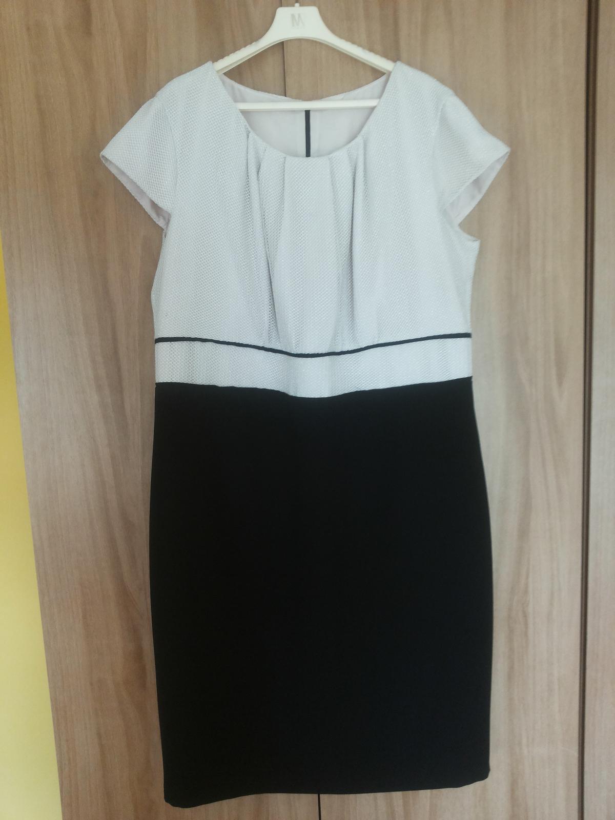 Béžové krátke šaty - Obrázok č. 3