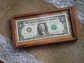 Svatební hlavolam - trezor na bankovku,