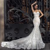 nádherné šaty crystal desing - velikost 34/36, 36