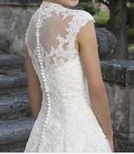 Krajkové svatební šaty, 44