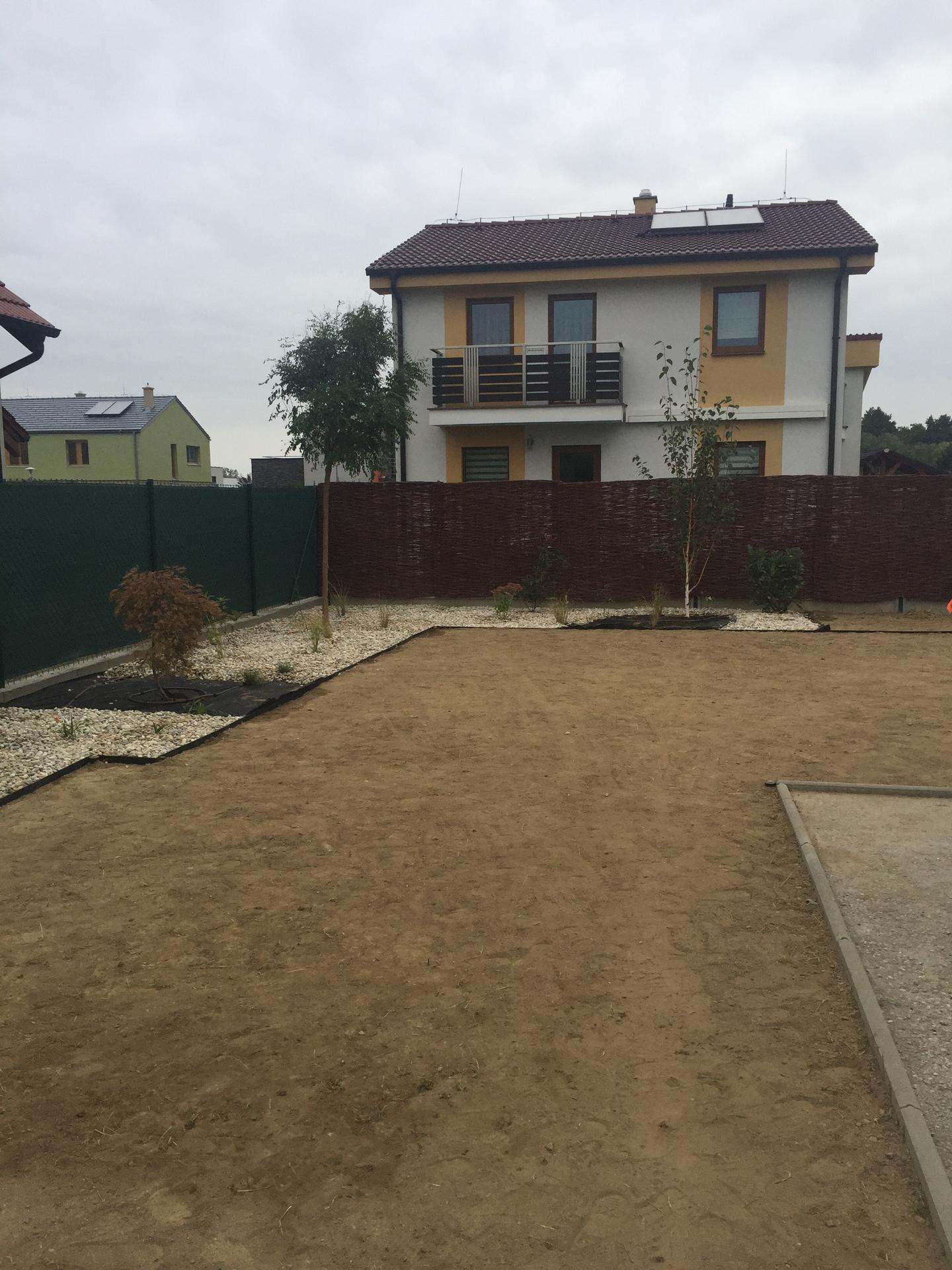 a robí sa záhradka