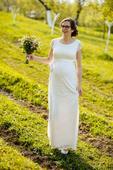Těhotenské svatební šaty Tiffany Rose Emma, 40