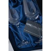 Svadobné poháre Diamante Lunar White Wine Paris,