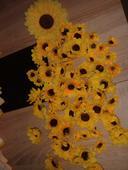 slunečnice - dekorace,