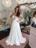 Svatební šaty s rukávem, 36