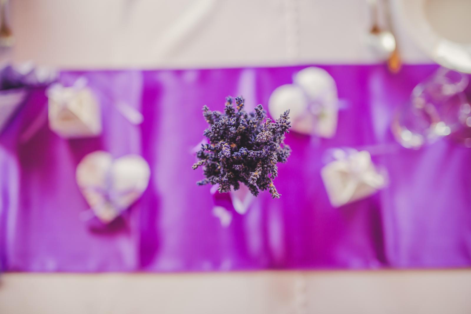 Levanduľová kytička - Obrázok č. 1