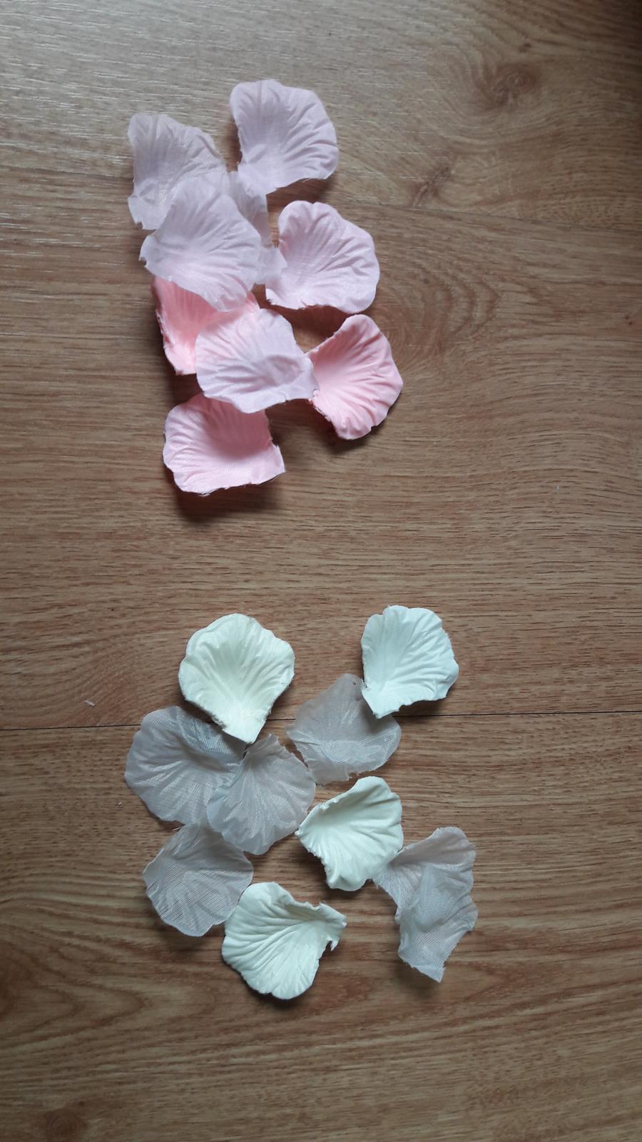 Plázky květů-růžová,béžová - Obrázek č. 1