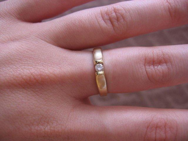 A toto uz mame :o) - no a na doplnenie ... tento prstienok som dostala v Benatkach 8.7.2004 ked sme boli na dovolenke