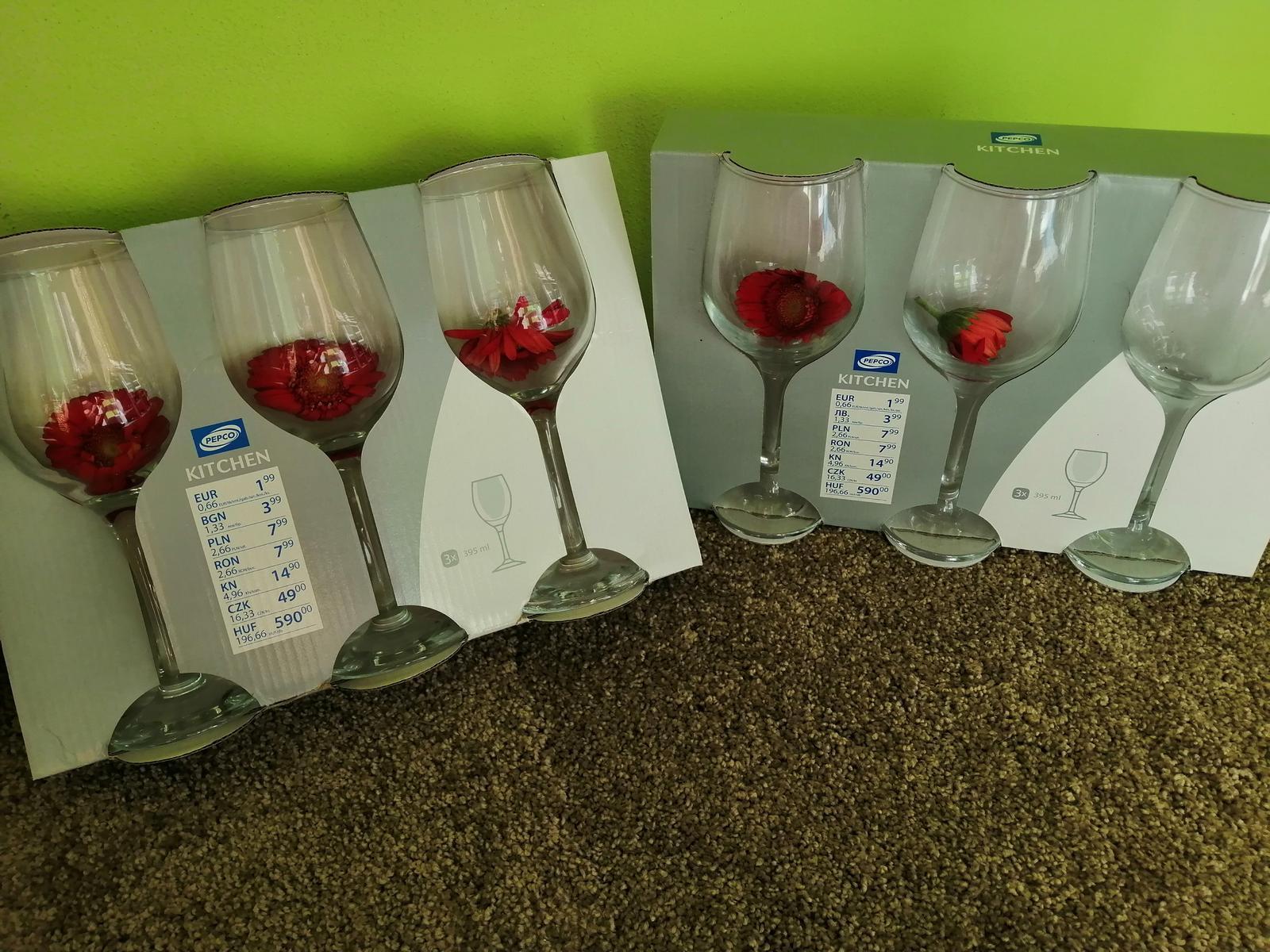 sklenice na víno - Obrázek č. 1