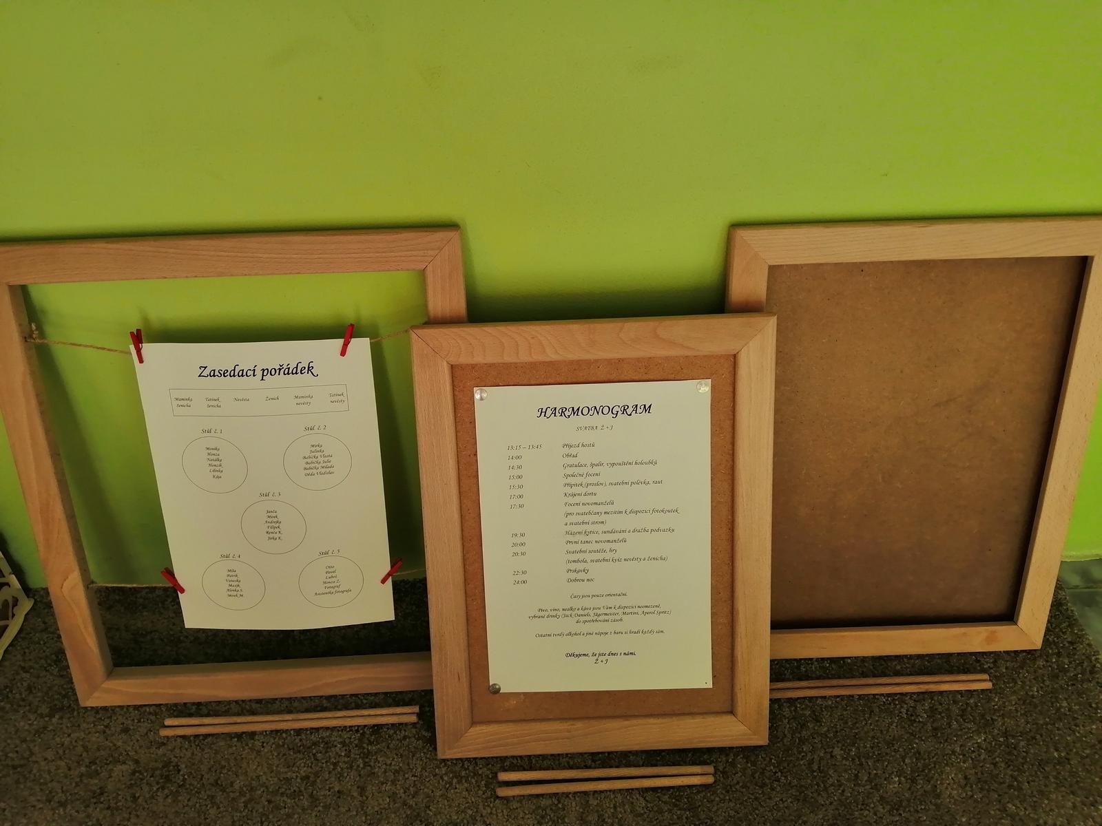 dřevěné rámečky - Obrázek č. 1