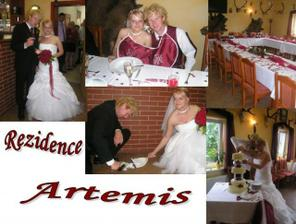 svatební hostina byla v Rezidenci Artemis :-)