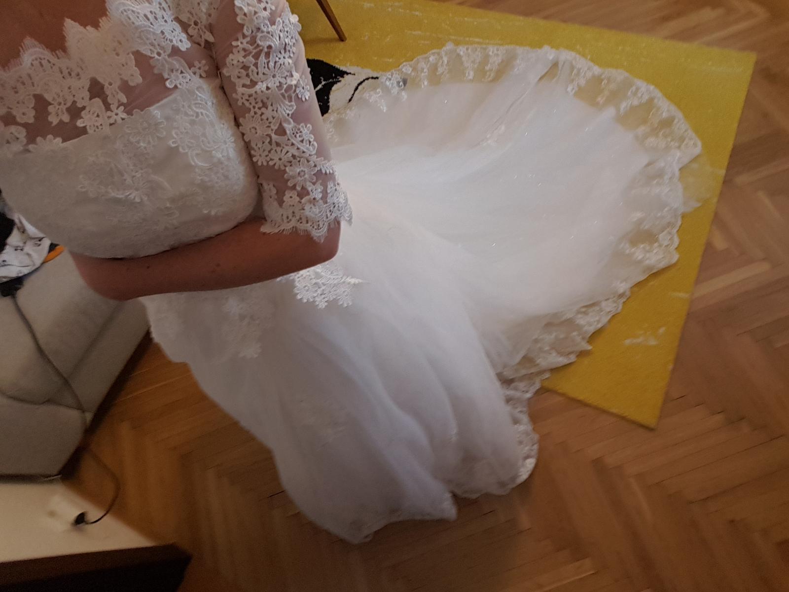 Svadobné šaty S/36 - Obrázok č. 2