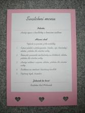 Svatební menu pro hosty
