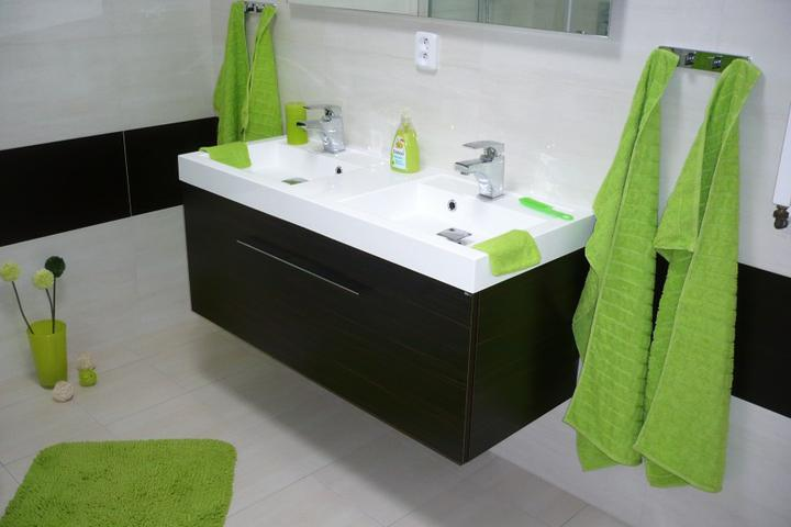 Naše nová koupelna 2011 - Nová koupelna v reálu