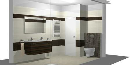 Opět grafický návrh - WC jsme podle mě vymysleli ve skutečnosti lépe