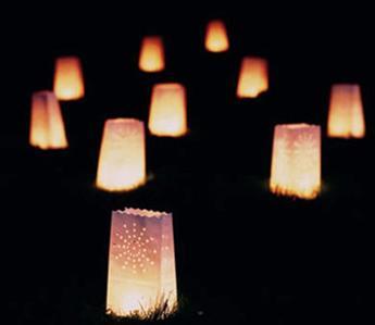 Lampionky včetně světýlek - Obrázek č. 1