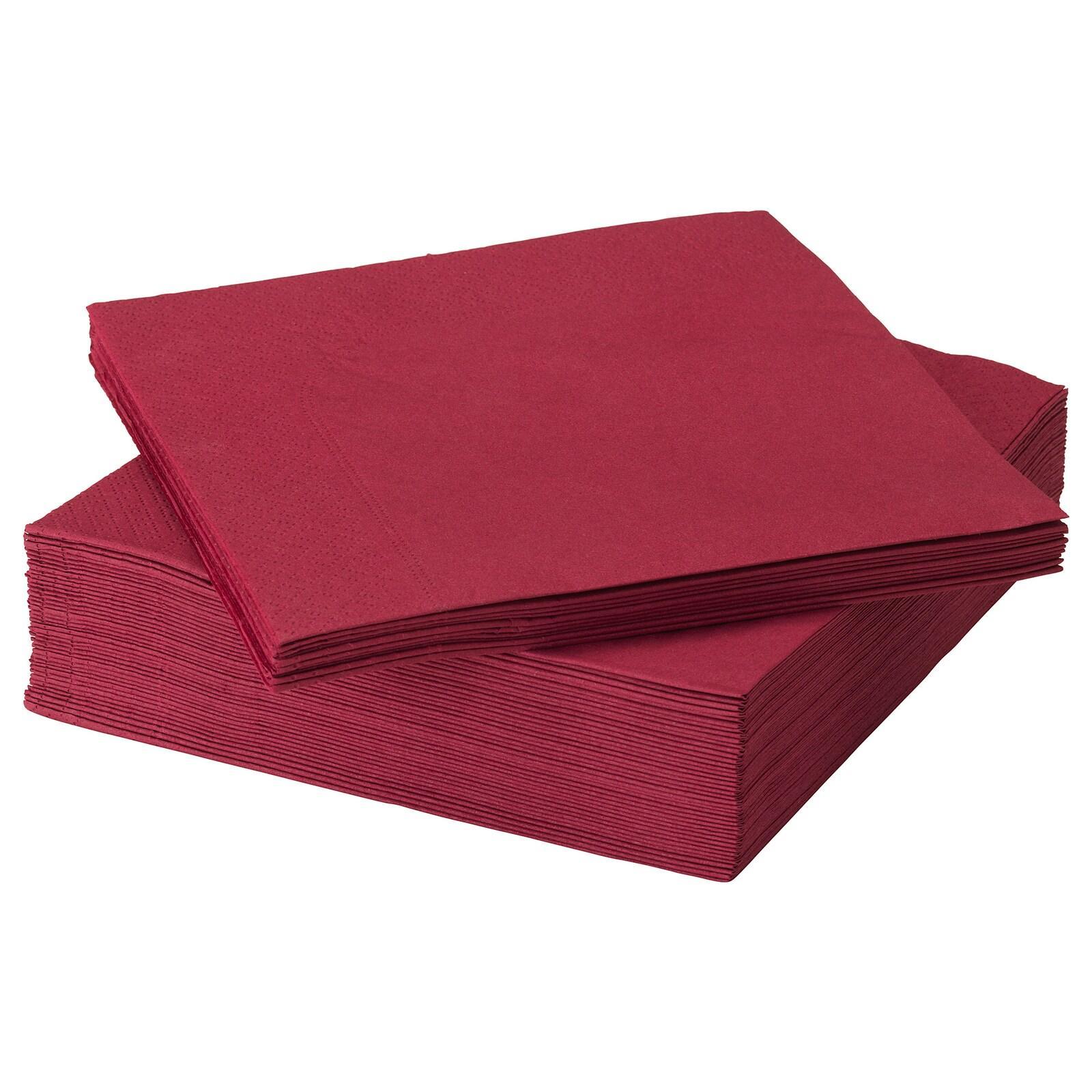 Papírové ubrousky vínové - Obrázek č. 1
