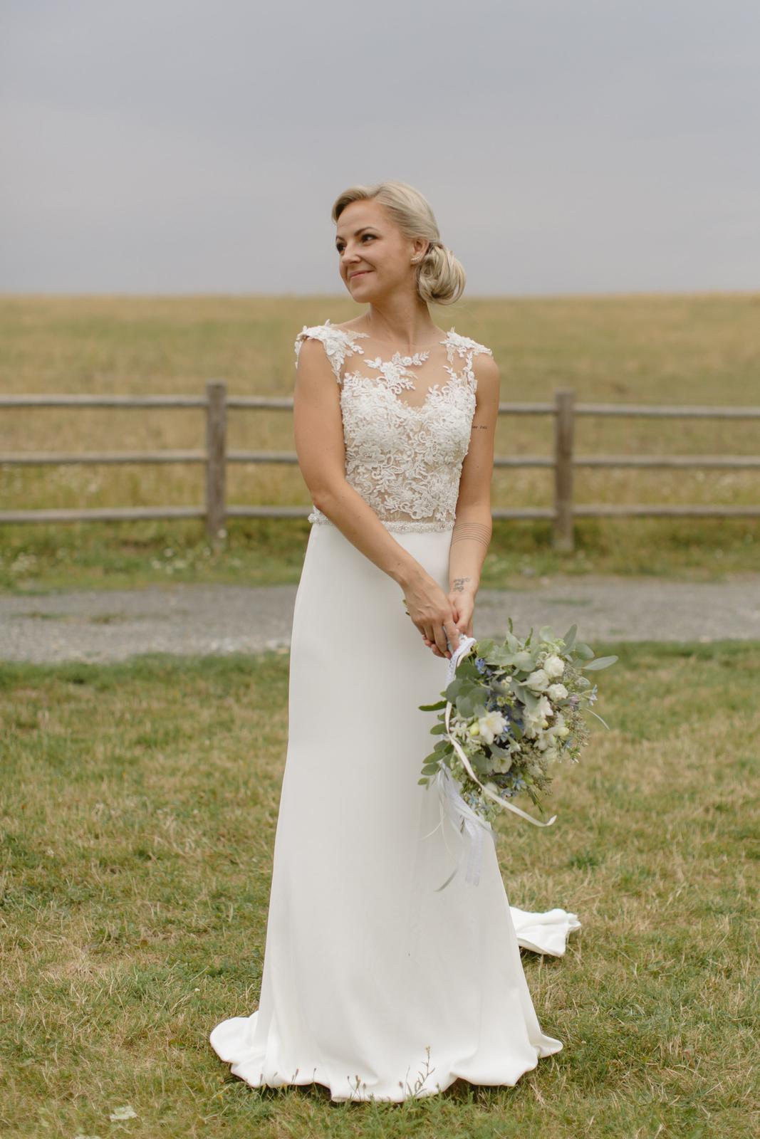 Překrásné svatební šaty Pronovias - Obrázek č. 1