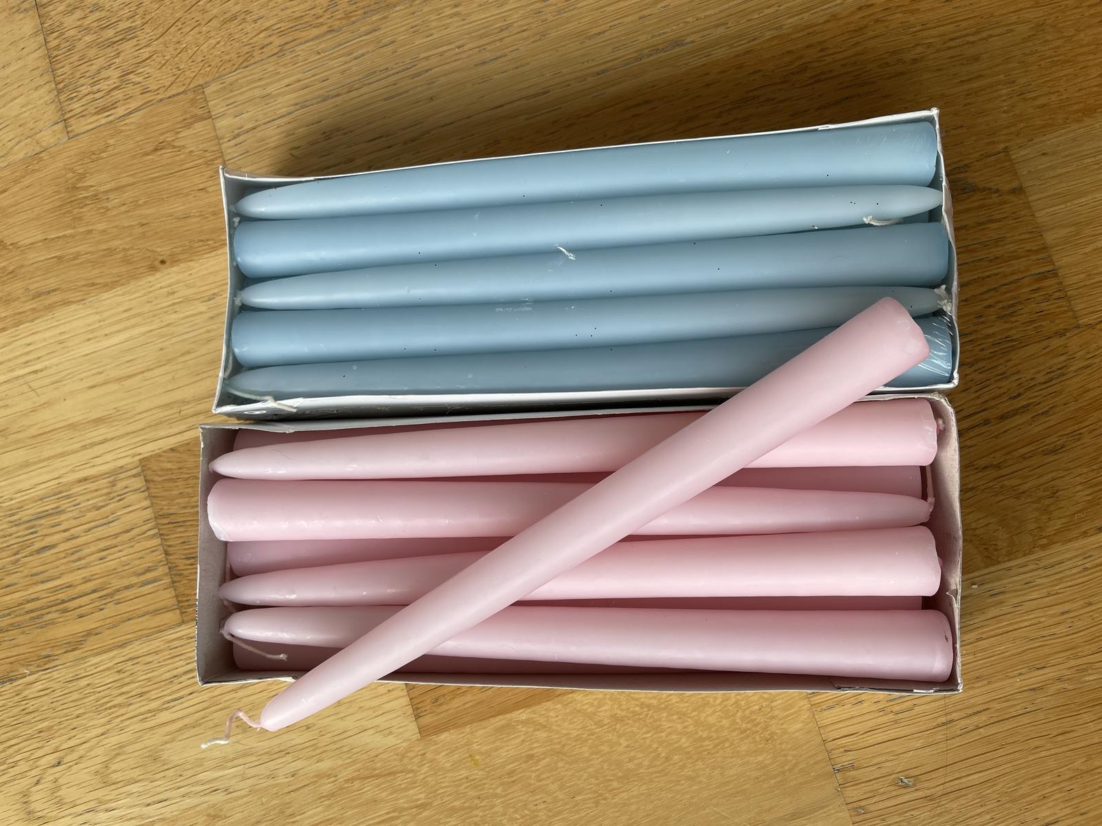Kónické svíčky - nové - Obrázek č. 1