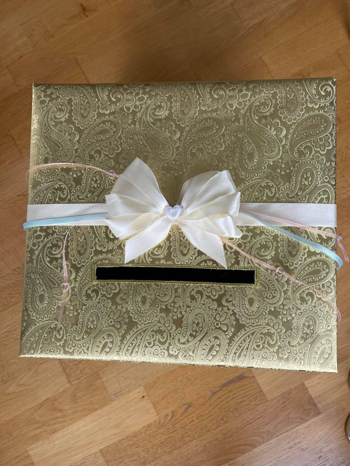 Krabice/pokladnička na přání a dary - Obrázek č. 1