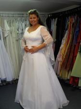 Mé svatbní šaty - poslední zkouška ...