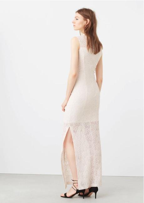 Čipkované vintage šaty zn.Mango - Obrázok č. 4