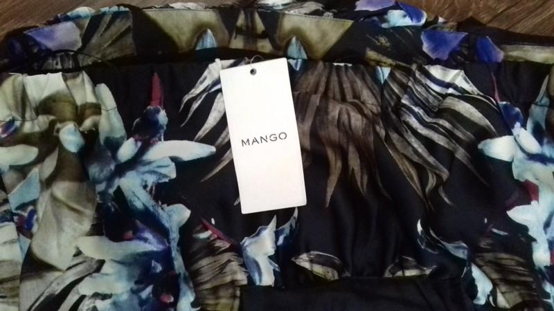 Vzorovane saty zn.Mango - Obrázok č. 2