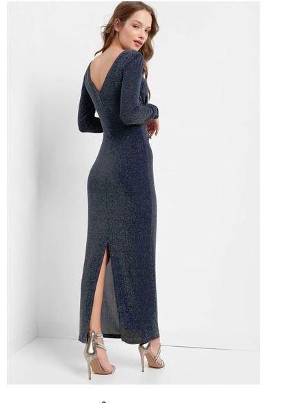 Trblietavé šaty Orsay s visačkou  - Obrázok č. 2