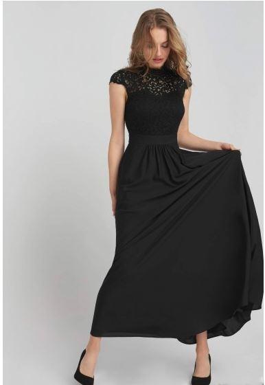 Dlhé Orsay šaty (pošta v cene) - Obrázok č. 1