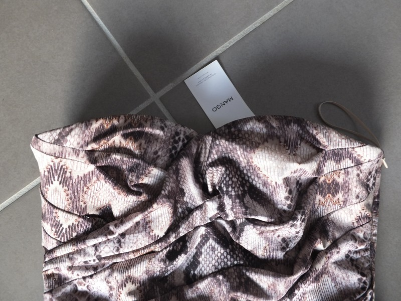 Elegantné Mango šaty s opaskom, nenosene - Obrázok č. 3