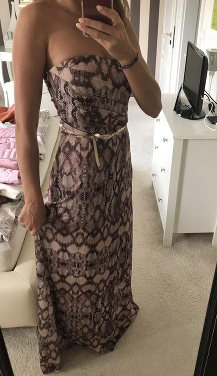 Elegantné Mango šaty s opaskom, nenosene - Obrázok č. 1