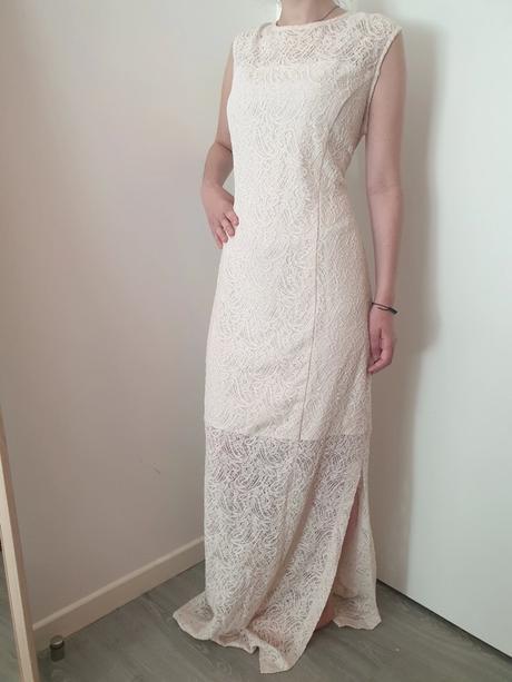 Čipkované vintage šaty zn.Mango - Obrázok č. 1